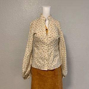petersyn Floral blouse.